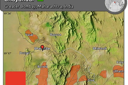 free satellite map of bhayandar