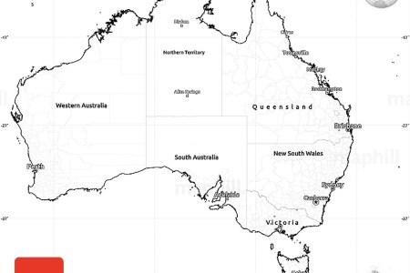 1c2b2f4cecb01f2b55ecfc958b864190 blank simple map of australia