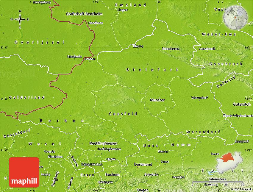 map munster