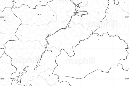 blank simple map of volga no labels