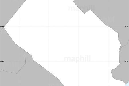 gray simple map of zip code 19114