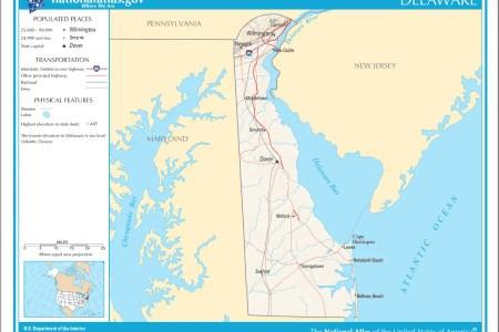 map of delaware na mapsof.net