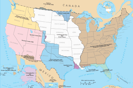 territorial acquisitions of the united states mapsof.net