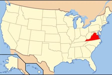 map of usa va mapsof.net