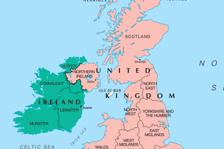 Map Of Uk Ireland - Map of us and uk