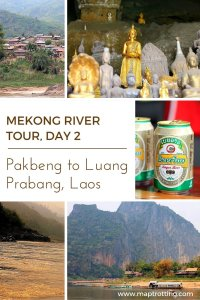Slow Boat Boat Mekong river tour - day 2