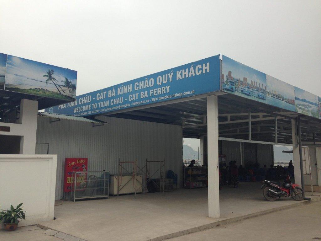 Tuan Chau Cat Ba ferry terminal
