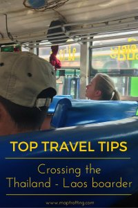 Tips for Crossing the Thailand - Laos boarder