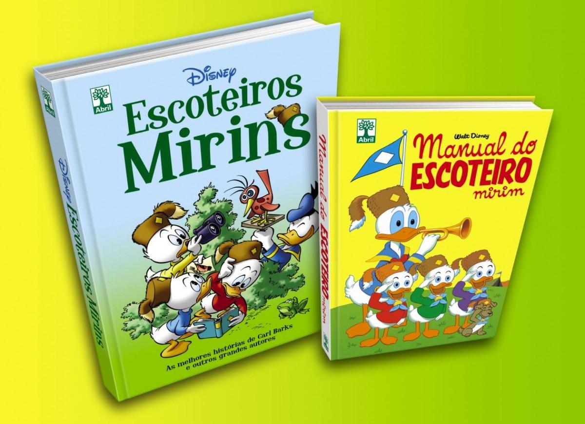 Clássico Manual dos Escoteiros Mirins reeditado pela Editora Abril