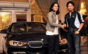 Olympics Bronze Medallist Saina Nehwal being gifted a BMW
