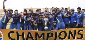 india wins under 19 world cup