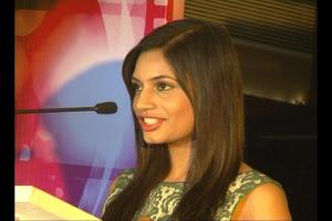 Megha Bajaj at music launch of The Strugglers - Amhi Udyache Hero