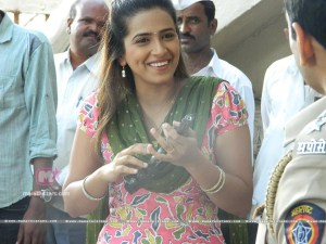 Sharmishtha Raut  on set of yoddha