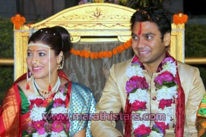 Tejswini Pandit Weds Bhushan Bopche