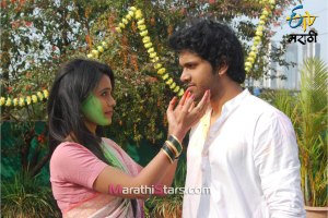 Etv Marathi Serial Mendichya panavar Holi Photos