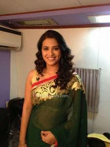 Marathi Actress Sharmishtha Raut Saree Photos
