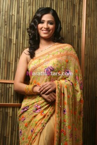 Sharmistha Raut Marathi Actress in Saree photos