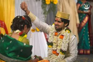 Shashank ketkar & tejashree Pradhan Marriage Photos