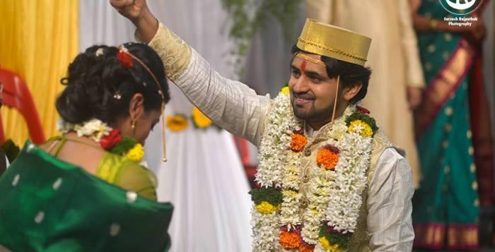Shashank ketkar & tejashree Pradhan Marriage Photos