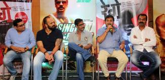 Marathi-Hindi Bhai : Rege & Singham Returns wish each other good luck