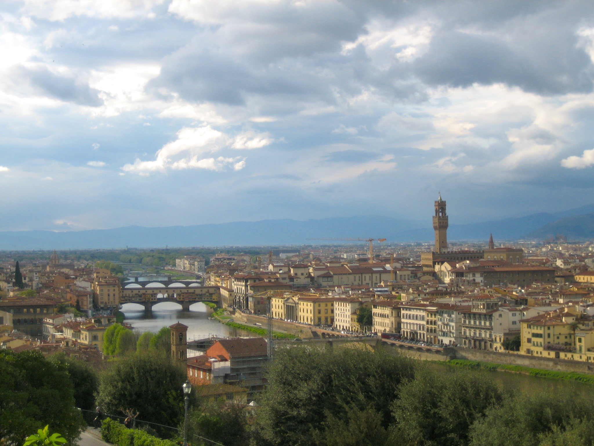 Running away florence italy and the tuscan hills for Is florence in tuscany