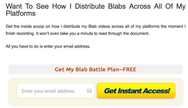 Blab Content Upgrade