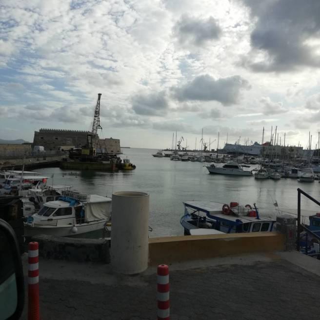 Una veduta del porto di Vreta