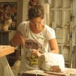 Sculpture courses, July, August 2016 in Cabo de Gata (Almeria) Spain