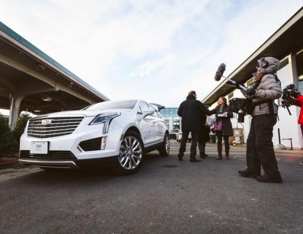 Instagram test drive de Cadillac XT5