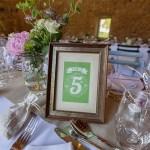 Nom de table, mariage