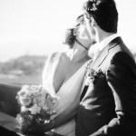 Mariage Ma Régisseuse wedding planner La Réunion bouquet kiss fleurs black and white