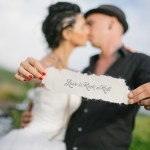 Shooting inspiration mariage rock tatouages love is rock'n'roll wedding planner