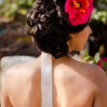 Shooting inspiration mariage mexicain Ma Régisseuse La Réunion fleur coiffure robe mariée