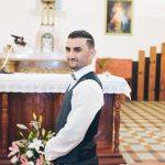 mariage, costume, église,