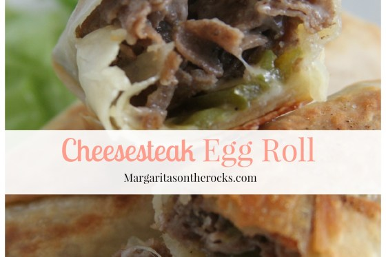 Cheesesteak Egg Roll