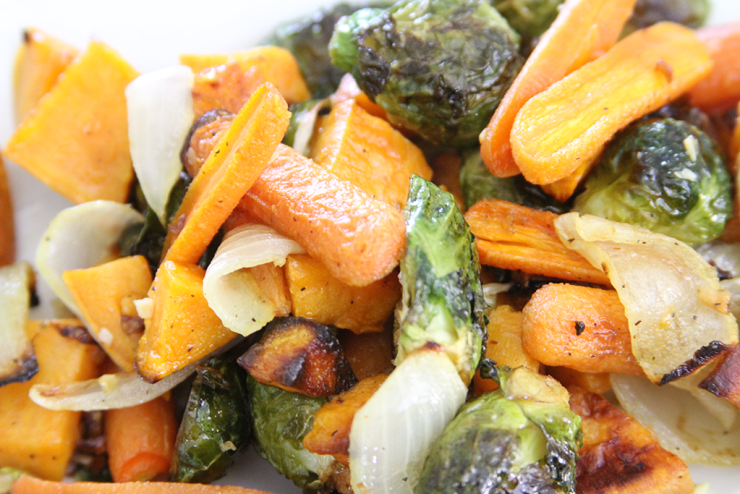 Slim & Trim: Roasted Veggies