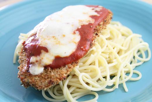 Slim & Trim: Skinny Chicken Parmesan