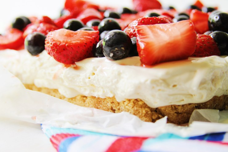 patriotic cream cheese bars