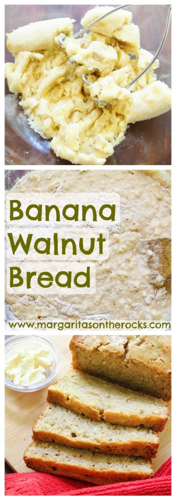 Super Moist Banana Walnut Bread