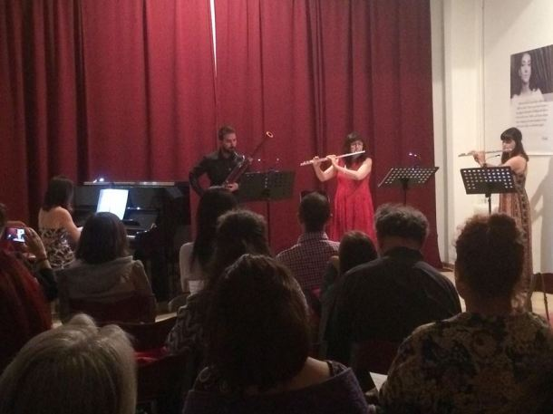 Three Breaths and one piano concert / Τρεις Πνοές & ένα πιάνο, συναυλία.
