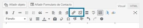 wordpress-barra-herramientas-enlaces