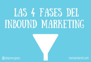 Las 4 fases del Inbound Marketing