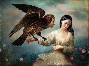 Christian Schloe lost in dreams
