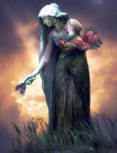 Tailtiu - Irish goddess of midsummer goddes of earth and wheat