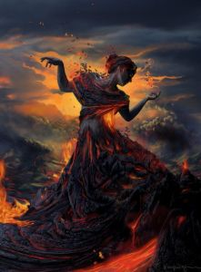 Cassiopeia art - elemnts - fire