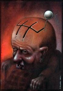 Pawel Kuczynski mercurio retro
