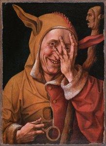 O Louco - Maître de 1537 - Museu de Flandres, França - Reprodução