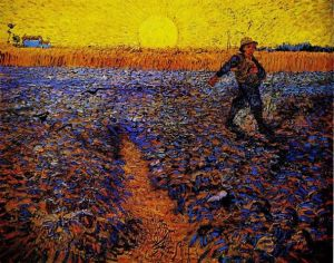 Van Gogh The sower Open Art