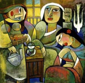 Marta e Maria - He Qi