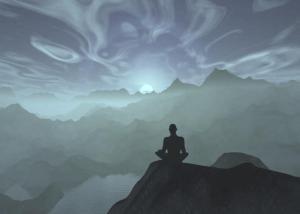 meditação montanha